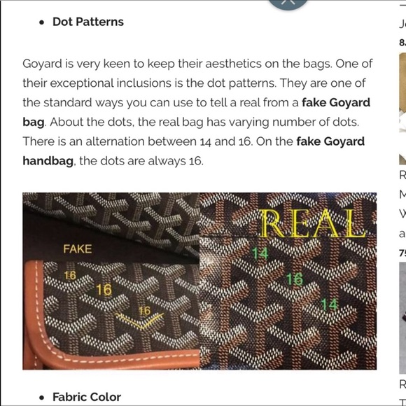 💖Goyard authenticity tips💖 don't pay for junk🤣